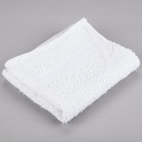 15 inch x 27 inch 100% Open End Cotton Hand Towel 3.5 lb.   - 12/Pack