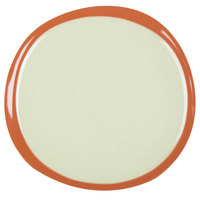 Syracuse China 922224351 Terracotta 9 inch Fern Green Plate - 12/Case