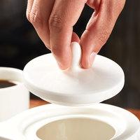 Syracuse China 909089888 Royal Rideau Solario Porcelain Teapot Lid   - 12/Case