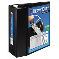 Avery 79606 Black Heavy-Duty View Binder with 5 inch Locking One Touch EZD Rings