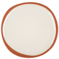 Syracuse China 922222350 Terracotta 6 3/8 inch Pine Tan Plate - 12/Case