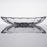 Anchor Hocking 561G 8.25 oz. Crystal Banana Split Dish - 3/Pack