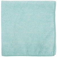 "Carlisle 3633409 16"" x 16"" Green Terry Microfiber Cleaning Cloth"