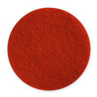 Pacific 973002 6 1/2 inch Red Mini Scrubbing Floor Pad - 10/Case