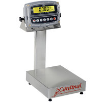 Cardinal Detecto EB-150-190 150 lb. Electronic Bench Scale with 190 Indicator, Legal for Trade