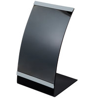 Tablecraft AS57 Curved Menu Displayette 5 1/2 inch x 8 1/2 inch