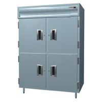 Delfield SSF2S-SH Stainless Steel 38 Cu. Ft. Two Section Solid Half Door Shallow Reach In Freezer - Specification Line