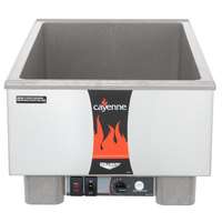 Vollrath 72020 Cayenne Full Size Heat 'n Serve Countertop Rethermalizer- 120V, 1000W