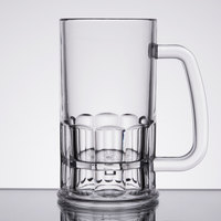 GET 00084-CL 12 oz. Customizable SAN Plastic Beer Mug