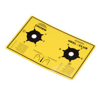 Antunes 1001118 Dial Label, Yellow