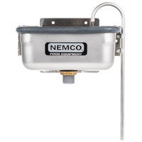 Nemco 77316-10A 10 3/8 inch Ice Cream Dipper Well and Faucet Set