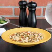 Tuxton CSD-090 Concentrix 12 oz. Saffron China Soup / Pasta Bowl - 24/Case