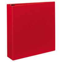 Avery 79582 Red Heavy-Duty Non-View Binder with 2 inch Locking One Touch EZD Rings