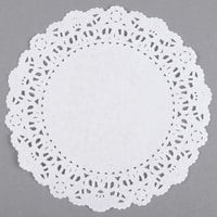 6 inch Normandy Lace Doily - 1000/Case