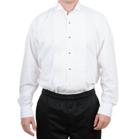 Tuxedo Shirt - Men's White Medium