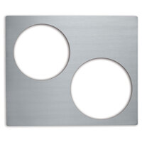 Vollrath 8250714 Miramar Stainless Steel Double Size Adapter Plate for Brazier Pan and Stir Fry Pan