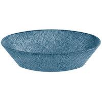 HS Inc. HS1011L 10 inch x 6 inch x 2 1/2 inch Blueberry Polyethylene Large Oval Basket - 24/Case