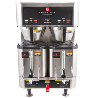 Grindmaster P400E 1.5 Gallon Twin Shuttle Coffee Brewer - 120/208/240V