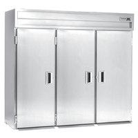 Delfield SARRI3-S 113.28 Cu. Ft. Three Section Solid Door Roll In Refrigerator - Specification Line