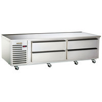 Traulsen TE084HT 4 Drawer 84 inch Refrigerated Chef Base - Specification Line