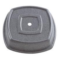 Granite Gray Cambro 1212SQVS191 Versa Camcover 12 inch Square Plate Cover 12/Case