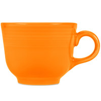 Homer Laughlin 452325 Fiesta Tangerine 7.75 oz. Cup - 12/Case