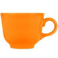 Homer Laughlin 452325 Fiesta Tangerine 7.75 oz. Cup - 12/Case