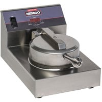 Nemco 7000A-S SilverStone Non-Stick Single Waffle Maker - 120V