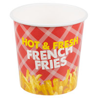 Choice 16 oz. French Fry Cup - 50/Pack