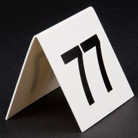GET NUM-76-100 Numbers 76 Through 100 Table Tent Number