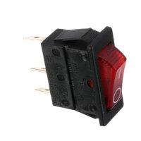 Fetco 1058.00006.00 Switch, Power Rocker Red, Illumntd