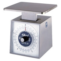 Edlund MSR-5000 OP 5000 g Stainless Steel Metric Portion Scale with 7 inch x 8 3/4 inch Platform