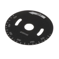 Vulcan 00-498945 Dial Plate