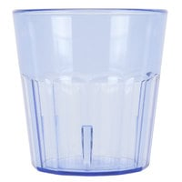 Cambro NT9401 Newport 9.3 oz. Slate Blue Customizable Plastic Tumbler - 36/Case