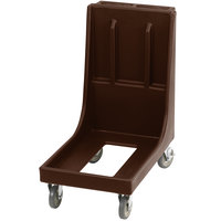 Cambro CD100H Brown Camdolly for Cambro Camcarriers and Camtainers with Handle