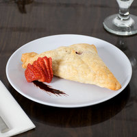 GET CS-6100-W 7 3/4 inch White Siciliano Plate   - 12/Case