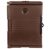 Cambro UPC400SP131 Camcarrier Dark Brown Pan Carrier with Security Package