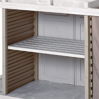 Metro LXHK-AS Center Compartment Adjustable Shelf for Lodgix Housekeeping Carts