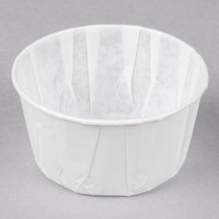 Genpak F550 5.5 oz. Harvest Paper Souffle / Portion Cup - 250/Pack