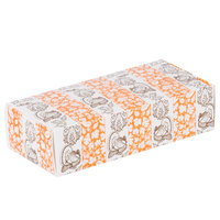 7 1/8 inch x 3 3/8 inch x 1 7/8 inch 1-Piece 1 lb. Thanksgiving Candy Box   - 250/Case