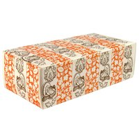 7 1/8 inch x 3 3/8 inch x 1 7/8 inch 1-Piece 1 lb. Thanksgiving Candy Box - 250 / Case