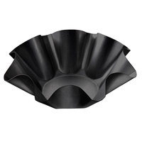 Chicago Metallic 46675 DuraShield Customizable Tortilla Shell Pan - 6 5/8 inch x 3 1/8 inch x 2 3/16 inch