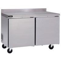Delfield GUF60BP-S 60 inch Two Door Worktop Freezer
