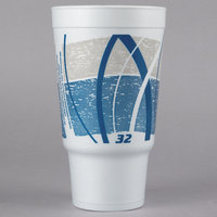 Dart 32AJ20E 32 oz. Impulse Customizable Foam Travel Cup - 400/Case