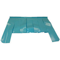 All Points 28-1662 22 5/8 inch x 17 inch x 12 inch Cut Out Dishwasher Splash Curtain