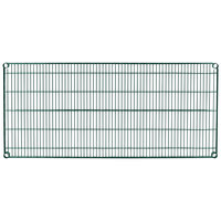 Metro 2454N-DHG Super Erecta Hunter Green Wire Shelf - 24 inch x 54 inch