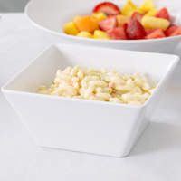 American Metalcraft MELSQ73 Endurance 58 oz. Square Melamine Serving Bowl