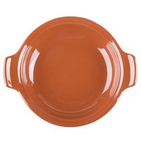 Syracuse China 922229800 Terracotta 11.25 oz. Handled Baker - 12/Case