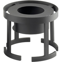 Cal-Mil 1344-10-13 Stackable 12 3/4 inch x 10 inch Black Chafer Alternative