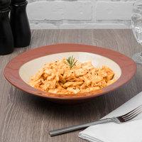 Syracuse China 922222357 Terracotta 30.5 oz. Pine Tan Pasta Bowl - 12/Case